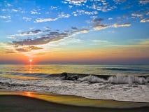 Fenwick-Insel-Sonnenaufgang lizenzfreies stockfoto