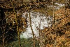 Fenwick Mines Waterfall Royalty Free Stock Photo
