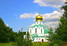 Feodorovsky Sovereign's Cathedral in the Pushkin (Leningrad regi Royalty Free Stock Photo