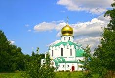 Feodorovsky Sovereign's Cathedral in the Pushkin (Leningrad regi Royalty Free Stock Photo