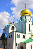 Feodorovsky Sovereign's Cathedral in the Pushkin (Leningrad regi Royalty Free Stock Image