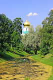 Feodorovsky Sovereign's Cathedral in the Pushkin (Leningrad regi Royalty Free Stock Image
