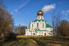 Feodorovskykathedraal, Tsarskoye Selo royalty-vrije stock fotografie