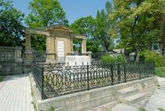 Feodosia - het graf van schilder Ivan Aivazovsky Stock Fotografie