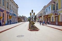 Feodosia, paisaje urbano Imágenes de archivo libres de regalías