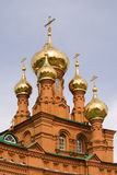 Feodosievskaya church. In city Perm Royalty Free Stock Photography