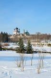 Feofaniya park w zimie obrazy royalty free