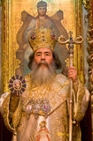 Feofil - Patriarch of orthodox church in Jerusalem Stock Photography