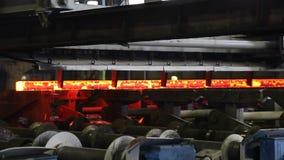 Fer moulé dans l'usine de sidérurgie clips vidéos