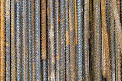 Fer Rods de corrosion image stock