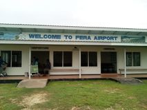 Fera Check in terminal Royalty Free Stock Image