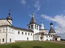 Ferapontov Belozersky kloster av Kristi födelse av oskulden Ferapontovo område av Kirillov, Vologda region, Ryssland royaltyfri bild
