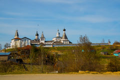 The Ferapontov monastery is a 15-18century. Vologda region.Russia. Royalty Free Stock Images