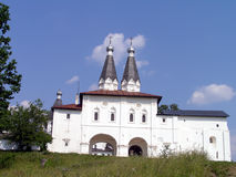 Ferapontovo - Kloster Stockbild