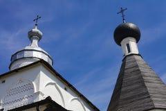 Ferapontovo, luglio 2018 monastery viste molto belle intorno immagini stock
