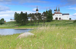 Ferapontovo Monastery in Russia Royalty Free Stock Image