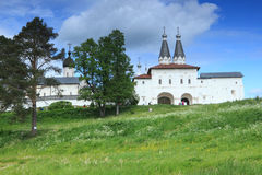Ferapontovo Monastery in Russia Royalty Free Stock Photography