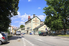 Ferdinand Brewery in the Benesov Stock Image