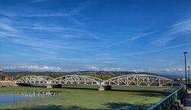 Ferdinand bridge on September 25, 2020 in Targu-Jiu.