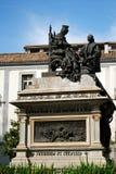 Ferdinand and Isabella monument, Granada. Stock Image