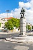 Ferdinand Magellan Statue Lisbon Portugal foto de archivo libre de regalías