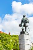 Ferdinand Magellan Statue Lisbon Portugal fotos de archivo libres de regalías