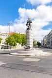 Ferdinand Magellan Statue Lisbon Portugal fotos de archivo