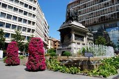 Ferdinand och Isabella monument, Granada royaltyfri bild