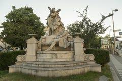 Ferdinand Raimund-Denkmal in Wien, Österreich lizenzfreie stockbilder