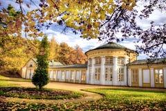 Ferdinand spring colonnade - Marianske Lazne - Czech Republic Royalty Free Stock Image