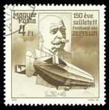 Ferdinand von Zeppelin fotografía de archivo