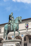 Ferdinando I de Medici in Florence, Italy Stock Photos