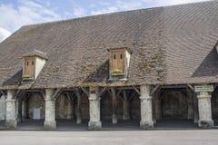 Fere-en-Tardenois - Covered market. Fere-en-Tardenois (Aisne, Picardie, France) - Ancient covered market Stock Photos