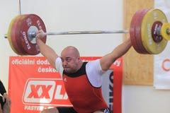 Ferenc Gyurkovics - halterofilismo Imagem de Stock