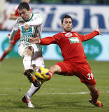 Ferencvárosi TC (FTC) vs. DVSC-TEVA Stock Photos