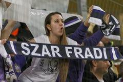 Ferencvaros - αγώνας ποδοσφαίρου ένωσης τράπεζας Ujpest OTP Στοκ Φωτογραφίες
