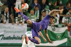 Ferencvaros - αγώνας ποδοσφαίρου ένωσης τράπεζας Ujpest OTP Στοκ εικόνες με δικαίωμα ελεύθερης χρήσης