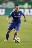 Ferencvaros εναντίον Ανοίγοντας αγώνας ποδοσφαίρου σταδίων της Chelsea Στοκ Φωτογραφίες