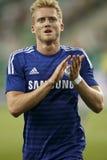 Ferencvaros contra Fósforo de futebol da abertura do estádio de Chelsea Imagem de Stock