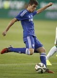Ferencvaros contra Fósforo de futebol da abertura do estádio de Chelsea Imagem de Stock Royalty Free