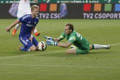 Ferencvaros contra Fósforo de futebol da abertura do estádio de Chelsea Fotos de Stock