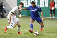Ferencvaros contra Fósforo de futebol da abertura do estádio de Chelsea Imagens de Stock Royalty Free