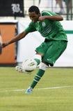 Ferencvaros contre l'allumette de ligue d'Europa de l'UEFA d'Aalesund Image stock