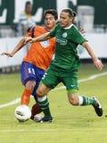Ferencvaros contre l'allumette de ligue d'Europa de l'UEFA d'Aalesund Photographie stock libre de droits