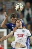 Ferencvaros contro Partita di calcio di apertura dello stadio di Chelsea Fotografia Stock Libera da Diritti