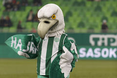 Ferencvaros gegen Bank-Ligafußballspiel Kecskemet OTP Lizenzfreies Stockbild