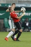 Ferencvaros gegen PMFC-MATIAS OTP Bank-Ligafußballspiel lizenzfreie stockfotografie