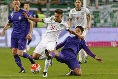 Ferencvaros - Ujpest OTP Bank League football match Stock Photos