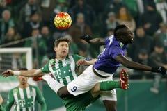 Ferencvaros - Ujpest OTP Bank League football match Stock Photo