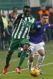 Ferencvaros - Ujpest OTP Bank League football match Stock Images